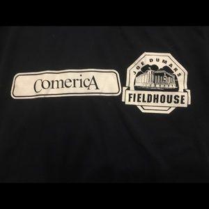 Comerica Park Joe Dumars Fieldhouse T-shirt L Blue